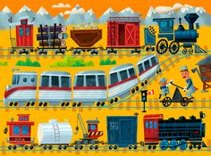 Troy Cummings - All aboard! http://www.troycummings.net/illustration