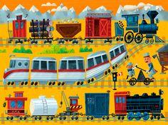 Troy Cummings - All aboard! http://www.troycummings.net/illustration