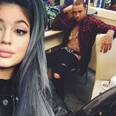 Kylie Jenner and Tyga haven't confirmed their relationship, but the 17-year-old reality TV star is rumored to be dating the 24-year-old rapper. They were even seen together in France!