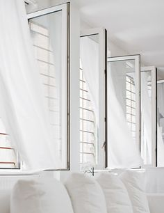 Johanne Riss's Loft Workshop all white at IDEASGN 18