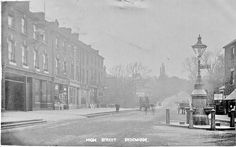 This is a picture taken in 1840 of the round about in kirkdale that turns off to Dartmouth road or if u go straight up towards elliot bank school or just on your left there is now a cost cutters there. Beautiful history