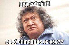 ay cabrn!! qu chingados es eso??- meme de jo jo jorge falcon #memes #generadormemes