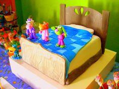 pajanimals cake