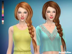 Sims 4 CC's - The Best: Free Hair by Butterflysims
