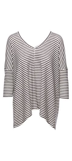 Jack Tumeric Yarn Dye Striped Soft French Terry Top in Black / Manage Products / Catalog / Magento Admin