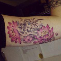 Inspiration on pinterest hawaiian flower tattoos lilies for Atomic tattoo lakeland fl