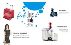 Shop online either your kitchen appliances or fashion outfits or electronic item.  Just click on http://www.eazyshopping4u.com/