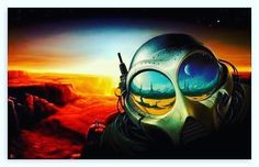 provocative-planet-pics-please.tumblr.com Futuristic Alien Painting Artwork. by spacealienufo https://www.instagram.com/p/BCwuXGQwbyE/