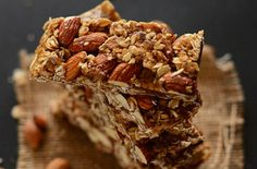 10 Delicious and Healthy DIY Energy Bar Recipes to Try: From Banana Oat Power Bars and Almond and Apricot Cherry Energy Bars to Flaxseed Yogurt Granola Bars and more, whip up a snack that can fuel you pre- and post-workout, or you can pack on the go when you're #UpNOut the door.