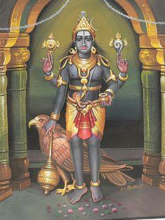 frightful) is a Hindu Tantric deity worshiped by Hindus. In Shaivism, he is a fierce manifestation of Shiva associated with annihilation Durga Goddess, Hindu, Lord Murugan, Goddess Sculpture, Deities, Shiva Statue, Hindu Deities, Shakti