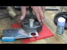 very cool! ... Seamless rings using the Swanstrom Disc Cutter (video)