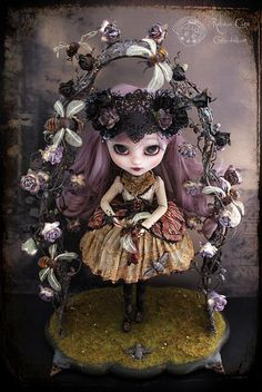Cookie Dolls by Rebecca Cano - So amazingly creative , beautiful, and thoughtful.