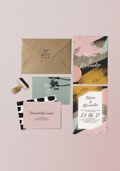 La nouvelle collection papeterie mariage 2017 est en ligne. Retrouvez le thème Terra nova, avec ses couleurs chaudes et son ambiance arty, graphique : http://papierandco.com/faire-part-mariage-original/5759-faire-part-terra-nova.html