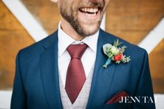 Groom's boutonniere | by Tobey Nelson Events + Design | image by Jenn Tai
