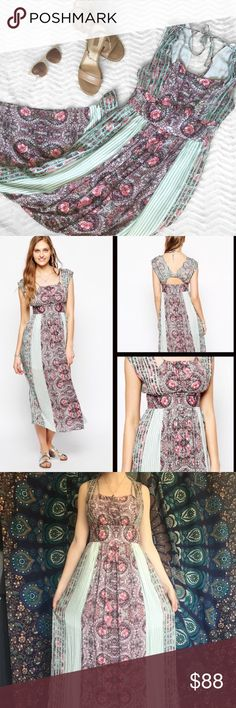033c3783b78089 Shop Women s Free People Pink Green size 0 Dresses at a discounted price at  Poshmark.