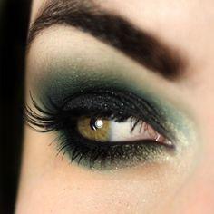 Tutorial – maquiagem com verde e preto