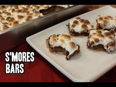S'mores Bars | Classy Cookin' With Chef Stef