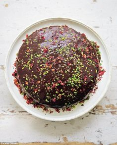 """I never thought I would be in raptures about the joyfulness of a – yes – vegan chocolate cake"""