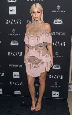 Personality Kylie Jenner attends Harper's BAZAAR Celebrates 'ICONS By Carine Roitfeld' at The Plaza Hotel on September 9 2016 in New York City