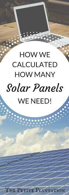 The Petite Plantation: Estimating Your Solar Needs!