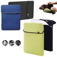 "CASE LOGIC Notebook-Hülle 17,3"" oder 15,4"" NEOPREN Laptop Tasche Sleeve Wendbar"