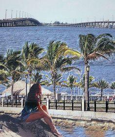 Tiki bar between bridges in Punta Gorda, Florida 3 - LuAnn Biskupiak Biskupiak