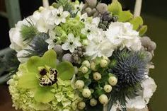 green and white flowers - Google Search