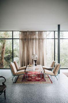 casa de vidro in sao paulo, brazil. House Design, Sfgirlbybay, Interior Design, House Interior, Bohemian Modern Style, Glass House, Home, Interior, Home Decor