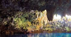 📸 Would you jump into this cave pool? Cabagnow Cave Pool, Anda, Bohol A post shared by The Philippines 🇵🇭 ( on Jan 2018 at PST Cave Pool, Bohol, Philippines, Country, Painting, Art, Art Background, Rural Area, Painting Art