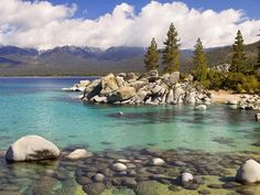 Lake Tahoe is a large freshwater lake in the Sierra Nevada of the United States. Description from intensiveknowledge.blogspot.com. I searched for this on bing.com/images