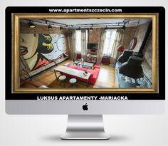 Apartament w stylu loftowym w samym centrum Szczecina. Idealny dla 1 do 4 osób. LUKSUS APARTAMENTY -MARIACKA Szczecin Zapraszamy do rezerwacji ! Book now ! Buchen Sie jetzt ! Rezerwacja / Reservierung / Reservation: : http://www.apartmentszczecin.com  e-mail: apartment@onet.eu