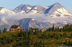 MUST do this! Granite Park Chalet, Glacier National Park.
