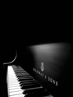 STEINWAY & SONS. My dream is to have one someday<3