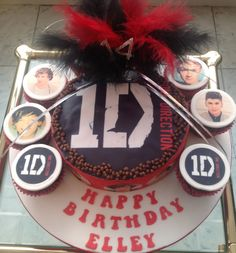 One Direction cupcakes