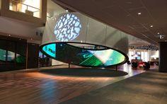 Telstra ring #Telstra #interactive #display #design #digital
