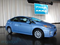 Toyota's Prius plug in hybrid just arrived today at Grappone in Concord, NH!