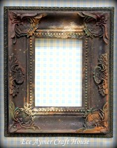 64 Trendy Ideas For Fruit Box Decoration Love Vintage Photo Frames, Antique Picture Frames, Basket Drawing, Pineapple Wallpaper, Creative Wall Decor, Fruit Box, Old Mirrors, Shabby Chic Frames, Iron Decor