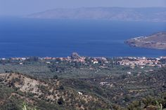 Petra, Lesbos, Greece