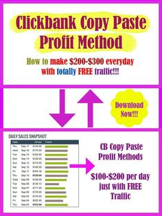 How to make $500 a day with clickbank copy paste method