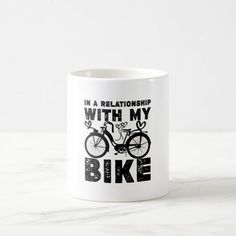 In a relationship with my bike coffee mug #history #outdoors #photography mountain bike trails, mountain bike gear, mountain bike for beginners, dried orange slices, yule decorations, scandinavian christmas Bike Coffee, Coffee Mugs, Dried Orange Slices, Motorcycle Tips, Mountain Bike Trails, Yule Decorations, Scandinavian Christmas, Photo Mugs, Funny Jokes