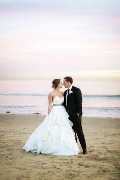 Stunning beach wedding! #wedding #photography #bride