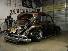 Rat Look Gallery 12 - Ratlook! Custom Vw Bug, Custom Cars, Vw Super Beetle, Rat Look, Car Fix, Vw Vintage, Vw Cars, Sweet Cars, Vw Camper