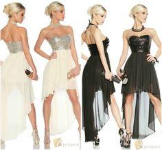 Coctailkleid Partykleid Pailletten Clubkleid Abendkleid  Mehrlagig Chiffon Beige