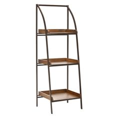 Have to have it. Safavieh Taylor Leaning Etagere - Black Iron / Med Ash - $161 @hayneedle