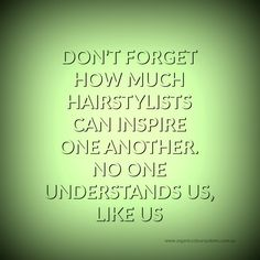 #quote #hairstylists #ocsaustralia #hairsalons