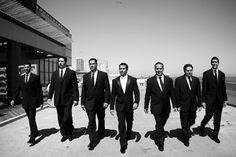 Lauren Mancuso weds Doug Travaglione at One Atlantic in Atlantic City • Groomsmen Attire: Ralph Lauren Black Label, Ralph Lauren, Madison Avenue, Manhatten, Dante Zeller