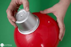 How To Make Cheap and Easy Giant Christmas Ornaments · Jillee Large Christmas Ornaments, Outside Christmas Decorations, Whimsical Christmas, Cheap Christmas, Christmas Porch, Christmas Balls, Homemade Christmas, Simple Christmas, Christmas Crafts