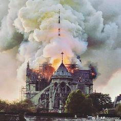 Notre-Dame de Paris Fire at the Cathedral World is… – pupal-cities Tour Eiffel, Paris Travel, France Travel, Saint Chapelle, Concours Photo, Ville France, Saint Louis, I Love Paris, Paris City