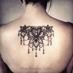 #tattoo #dentelle #lace