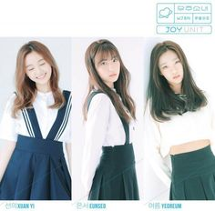 Upcoming girl group Cosmic Girls unveil their Joy unit | allkpop